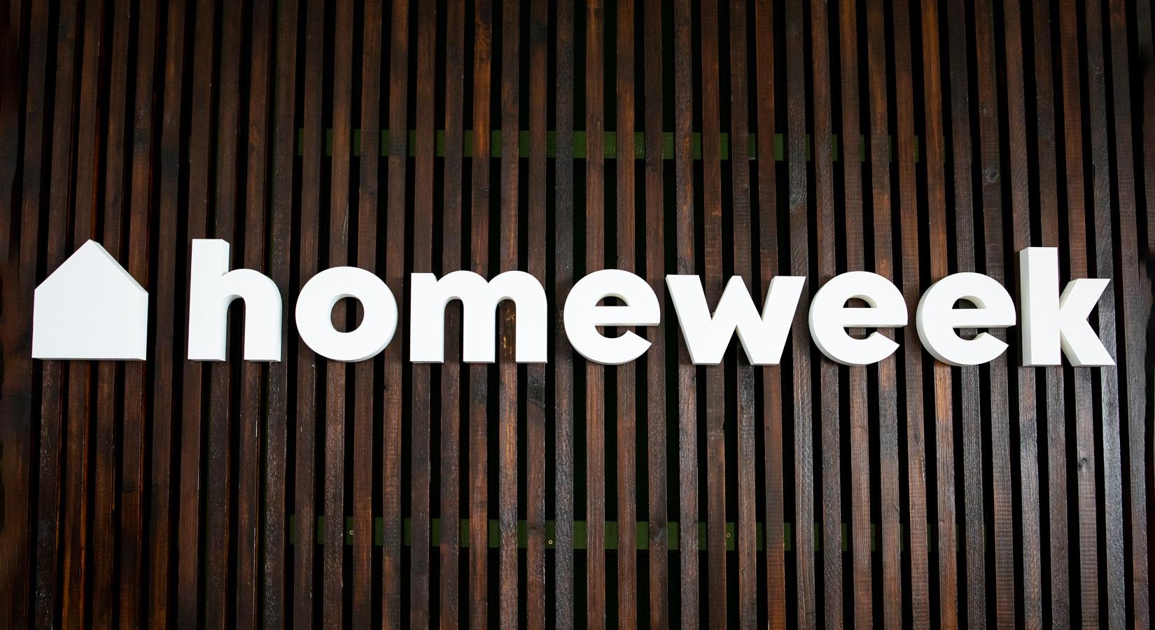 Kundenprojekte - Homeweek (Frontal)
