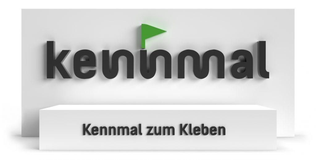 Individuelle 3D-Logos - Kennmal zum Kleben (Bauart)