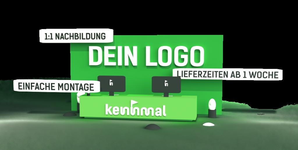 Individuelle 3D-Logos - Symbolbild