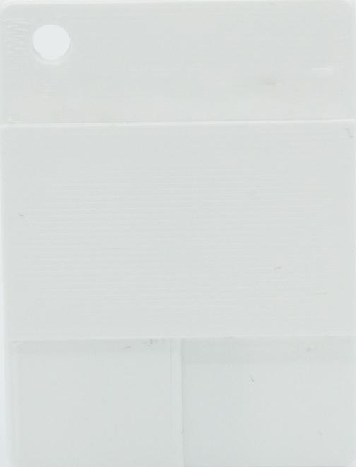 Glatte - Weiß